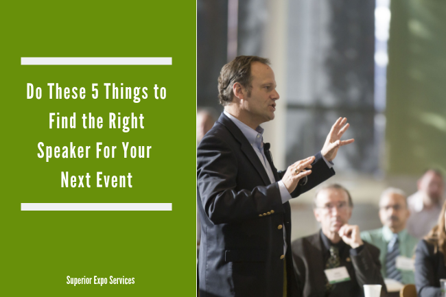do these 5 things to find the right speaker for your next event