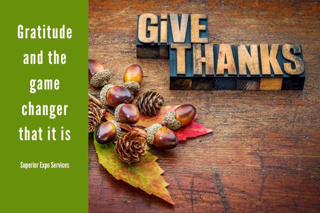 gratitude and the game changer it is