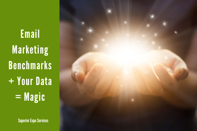 email marketing benchmarks + your data = magic